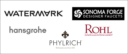 Faucet Manufacturers - WATERMARK, hansgrohe, phylrich, rohl, sonoma forge designer faucets