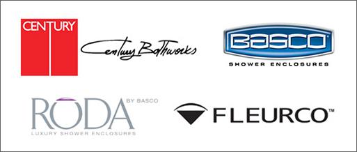 Shower Door Manufacturers - Century Bathworks, Basco Shower Enclosures, Roda Luxury Shower Enclosures by Basco, Fleurco