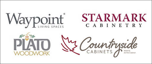 Cabinet Manufacturers - Waypoint, Starmark, Plato Woodwork, Countryside